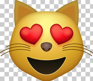 Face With Tears Of Joy Emoji Cat IPhone PNG