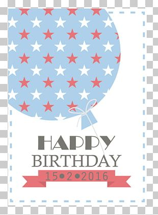 Happy Birthday To You Greeting Card Balloon PNG