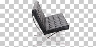 Barcelona Chair Barcelona Pavilion Couch Aniline Leather PNG