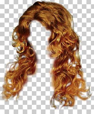 Brown Hair Capelli Wig Long Hair PNG