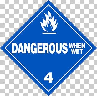 Dangerous Goods Placard Combustibility And Flammability HAZMAT Class 9 Miscellaneous Material PNG
