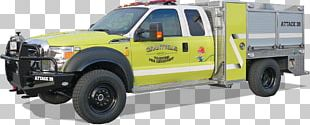 Fire Engine Fire Department Car Truck Bed Part PNG