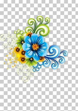 Floral Design Template Flower PNG