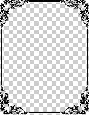 Wedding Invitation Borders And Frames Drawing Art PNG