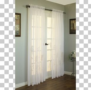 Curtain Window Covering Sheer Fabric Shade PNG