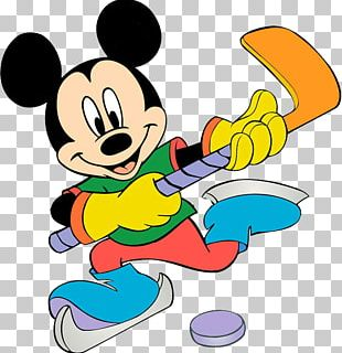 Mickey Mouse Donald Duck Sport Coloring Book PNG