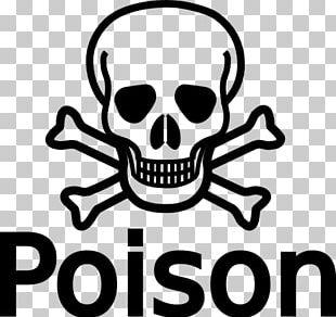 Skull And Crossbones Drawing Poison Human Skull Symbolism PNG