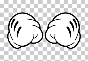 Closed Fists Mickey's Hands PNG
