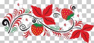 Russia Folk Art Painting Khokhloma PNG