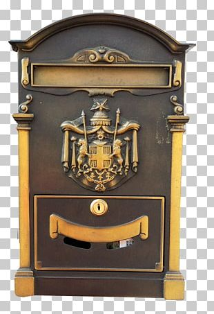 Brass Mail Post Box Letter Box Post-office Box PNG