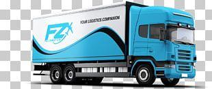 Mockup Van Pickup Truck Commercial Vehicle PNG