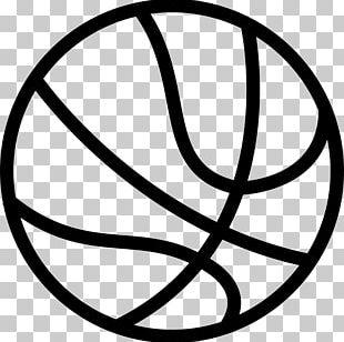 Outline Of Basketball Backboard Sport PNG