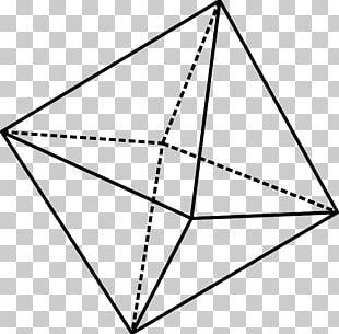 Octahedron Mathematics Octahedral Molecular Geometry PNG