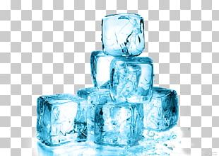 Ice Cube Melting Glacier Water PNG