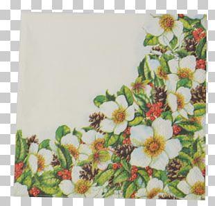 Cloth Napkins Floral Design Blume Tea PNG