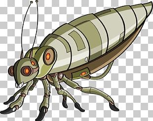 Insect Robot Yellow Stock Photography Illustration PNG