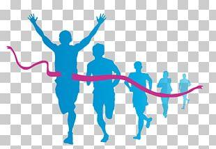 Running Marathon PNG