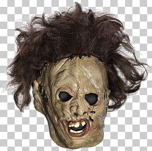 Leatherface Mask The Texas Chainsaw Massacre Halloween Costume PNG