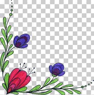 Art Floral Design Flower Drawing PNG