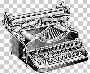 Paper Typewriter Drawing Vintage Clothing PNG