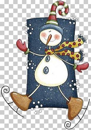 Christmas Tree Snowman Christmas Card Christmas Ornament PNG