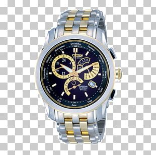 Eco-Drive Citizen Holdings Watch Perpetual Calendar Jewellery PNG