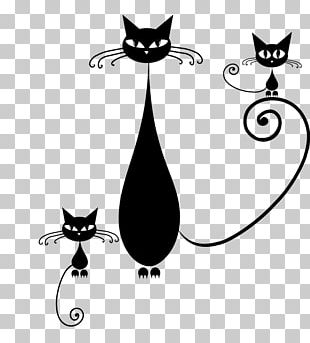 Kitten Whiskers Black Cat Domestic Short-haired Cat PNG