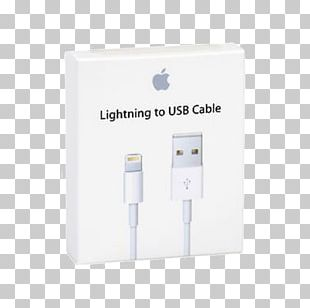 Battery Charger IPhone Lightning USB Apple PNG