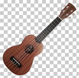 Kala Satin Mahogany Soprano Ukulele Musical Instruments Guitar PNG