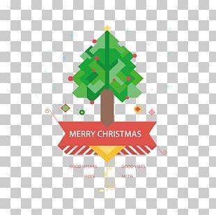 Christmas Tree Poster PNG