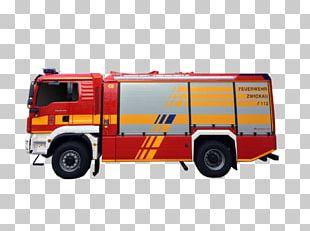 Fire Engine Volunteer Fire Department Zwickau-Planitz Hilfeleistungslöschgruppenfahrzeug Vehicle PNG
