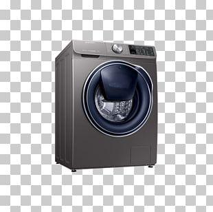 Washing Machines Samsung QuickDrive AddWash 9kg 1400rpm Freestanding Washing Machine WW90M645OPO Laundry SAMSUNG QuickDrive Smart 1400 Spin Washing Machine PNG