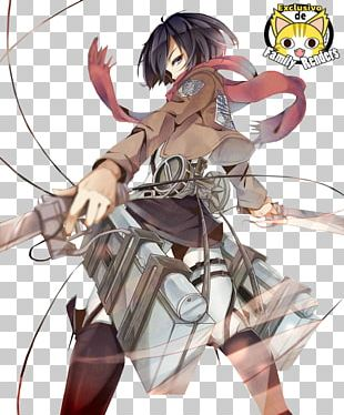 Mikasa Ackerman Eren Yeager Levi A.O.T.: Wings Of Freedom Attack On Titan PNG