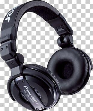 HDJ-1000 Headphones Pioneer DJ Disc Jockey Audio PNG