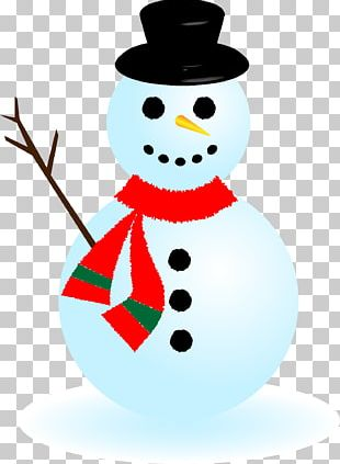 Snowman Illustrator Drawing PNG