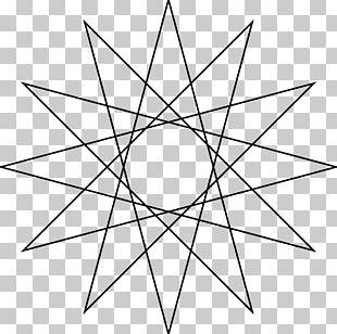 Star Polygon Geometry PNG