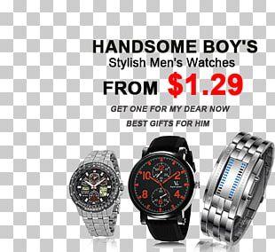 Watch Strap Bracelet Digital Clock PNG