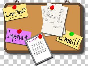 Bulletin Board Blog PNG