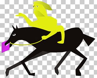 Horse Character Line Fiction PNG