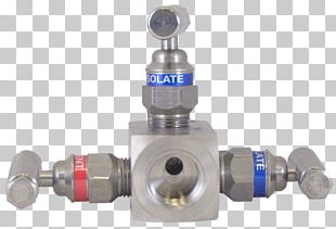 Block And Bleed Manifold Valve National Pipe Thread Stainless Steel Hard Seat PNG