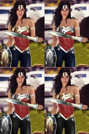 Diana Prince Superman Fan Art Film PNG