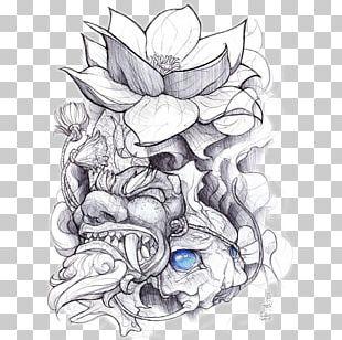 Sleeve Tattoo Irezumi Drawing Flash PNG