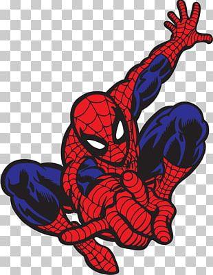 Spider-Man Wall Decal Bumper Sticker PNG