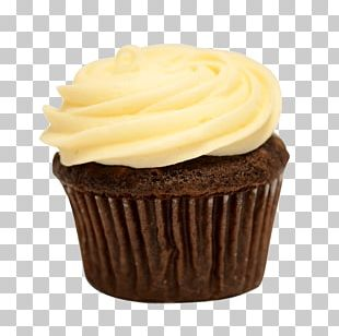 Buttercream Cupcake Frosting & Icing Muffin PNG