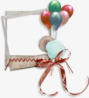 Balloon Frame PNG
