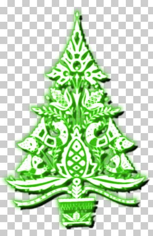 Christmas Tree Spruce Fir Christmas Ornament Evergreen PNG
