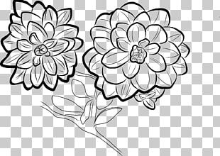 Visual Arts Drawing Flower Floral Design PNG