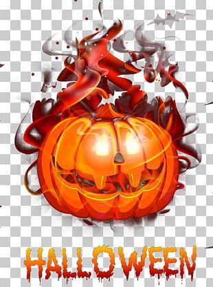 Calabaza Jack-o-lantern Pumpkin Halloween PNG