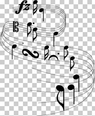 Musical Note Staff Musical Notation Musical Theatre PNG