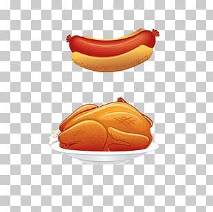 Chicken Thighs Hot Dog Sausage PNG